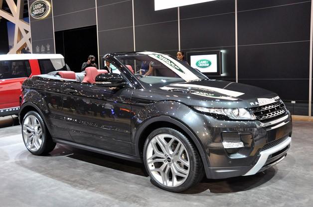 Range Rover évoque cabriolet: un nom qui fera chauffer l'asphalte?