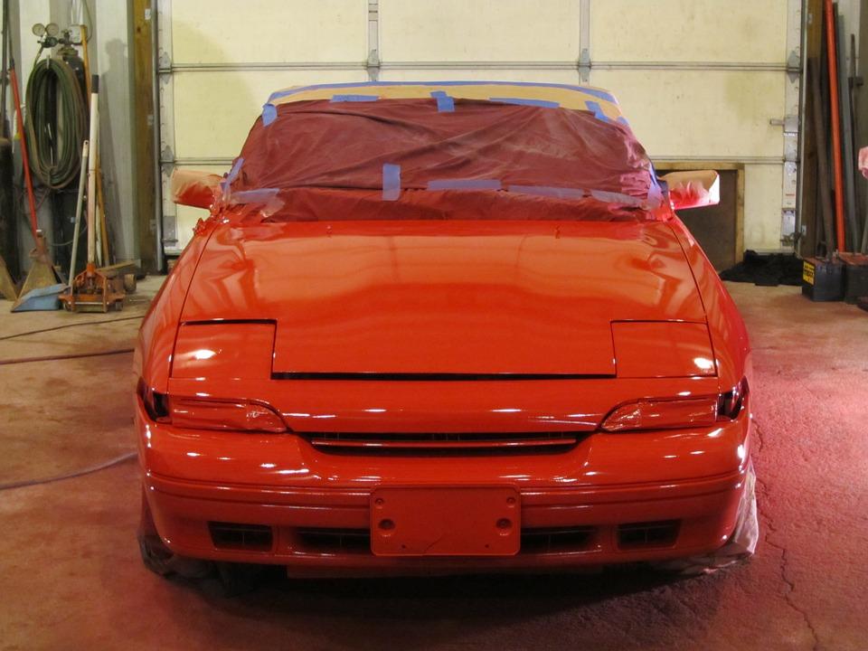 Les différents types de peinture automobile